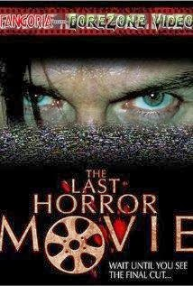 Ver La última película de terror (The Last Horror Movie) Online