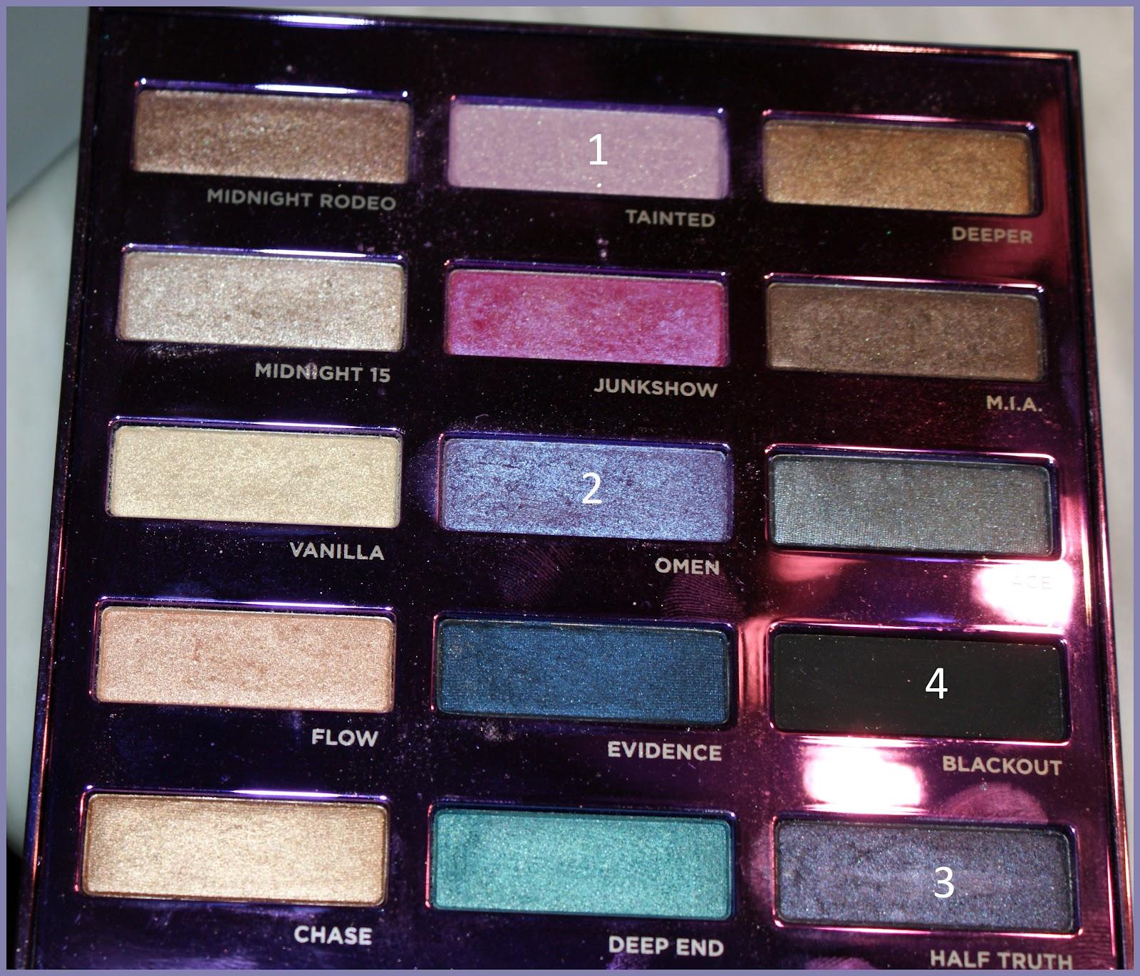 Lily beautips maquillage violet avec la palette 15th - Palette maquillage avec pinceaux ...