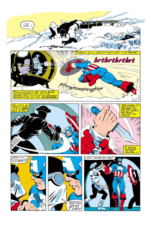 Captain America (1968) Issue #322 #250 - English 21