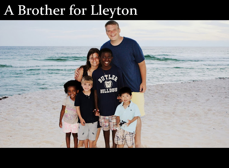 A BROTHER FOR LLEYTON