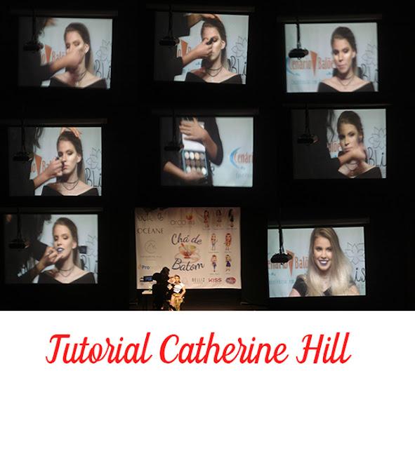 Eu fui ao Chá de Batom promovido pela Arco ìris Cosméticos - foto 2 - tutorial catherine Hill