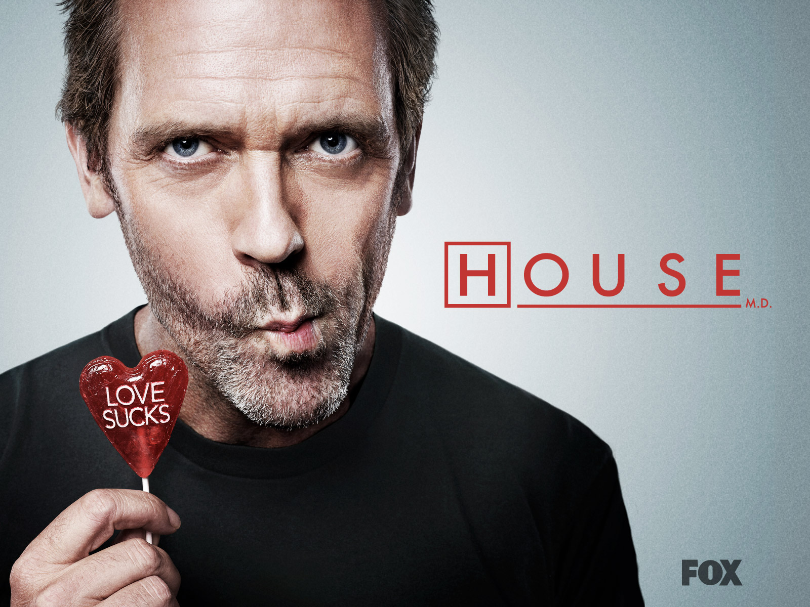 The show's Executives David Shore, Katie Jacobs and star Hugh Laurie