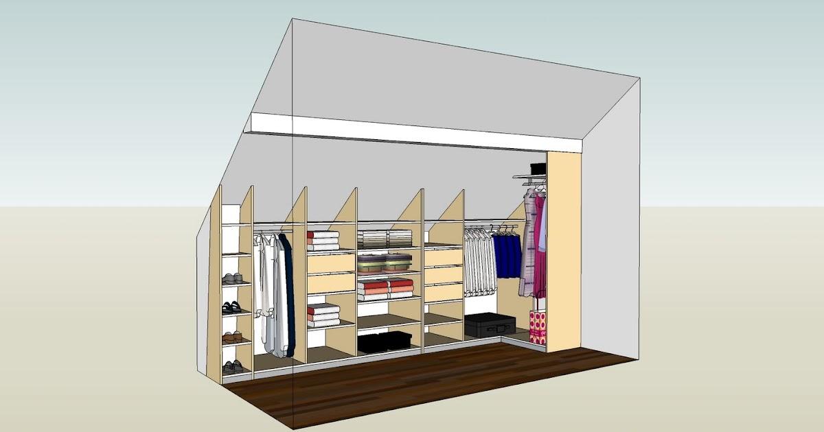 Dressing Sous Pente De Toit : dressing sous pente ~ Preciouscoupons.com Idées de Décoration