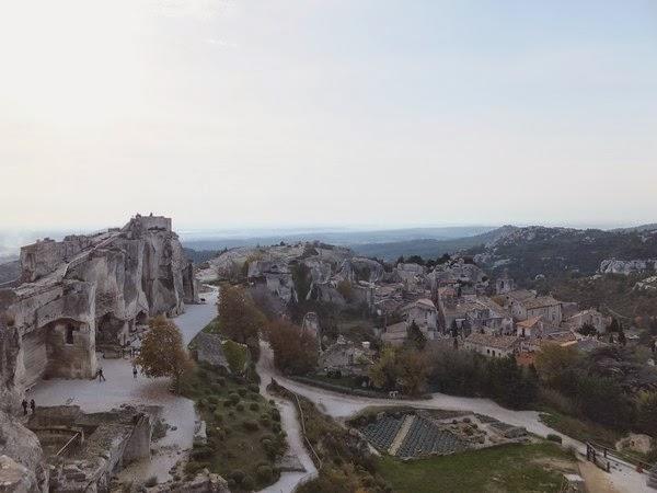 France Provence baux-de-provence château