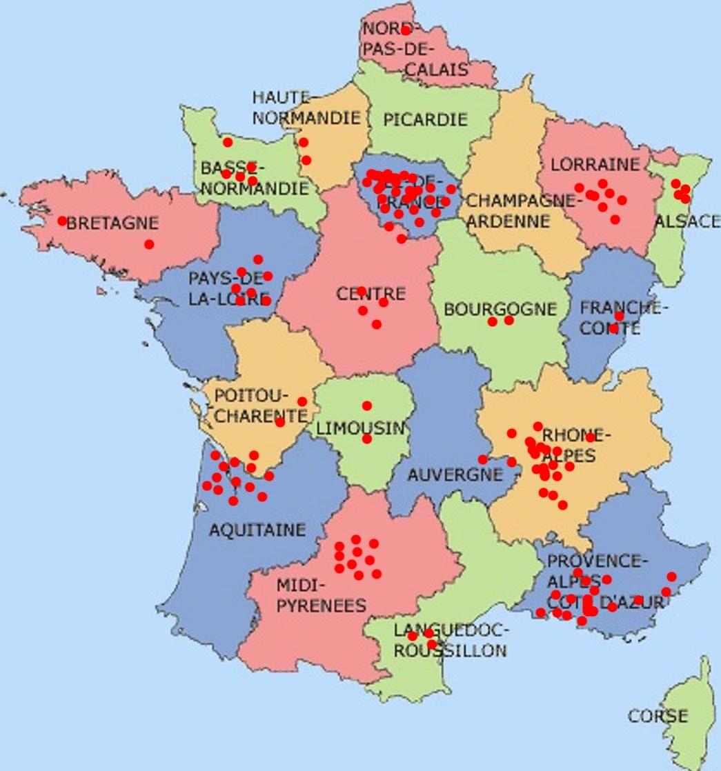 Nos livraisons en France