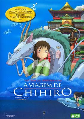 Filme A Viagem De Chihiro AVI Dual Áudio