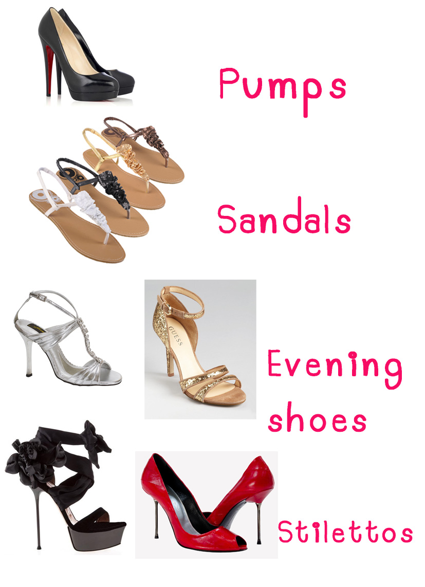 Types Of Shoes Types Of Shoes