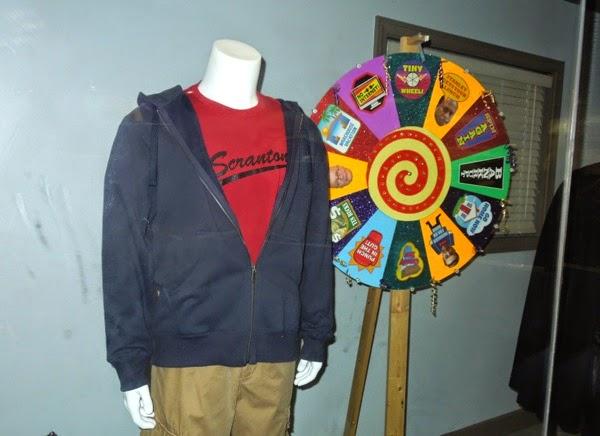 Steve Carell Michael Scott costume Chore Wheel prop The Office