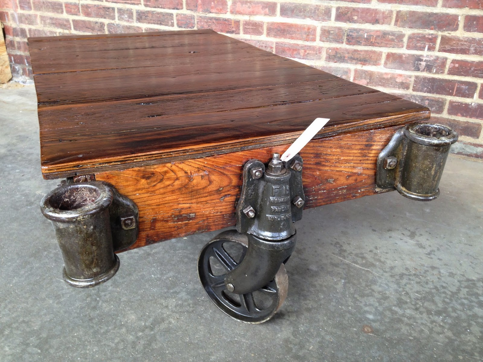 Nutting cart refurbished table