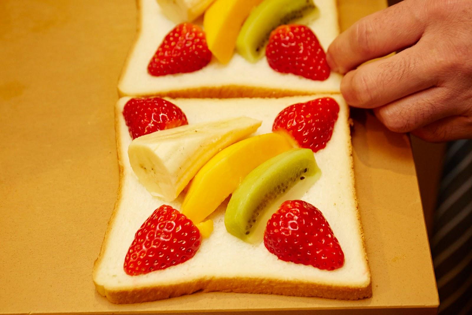 ちらり美人なサンドイッチ