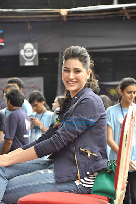 Nargis Fakhri at NM College's 'Umang 2013' festival