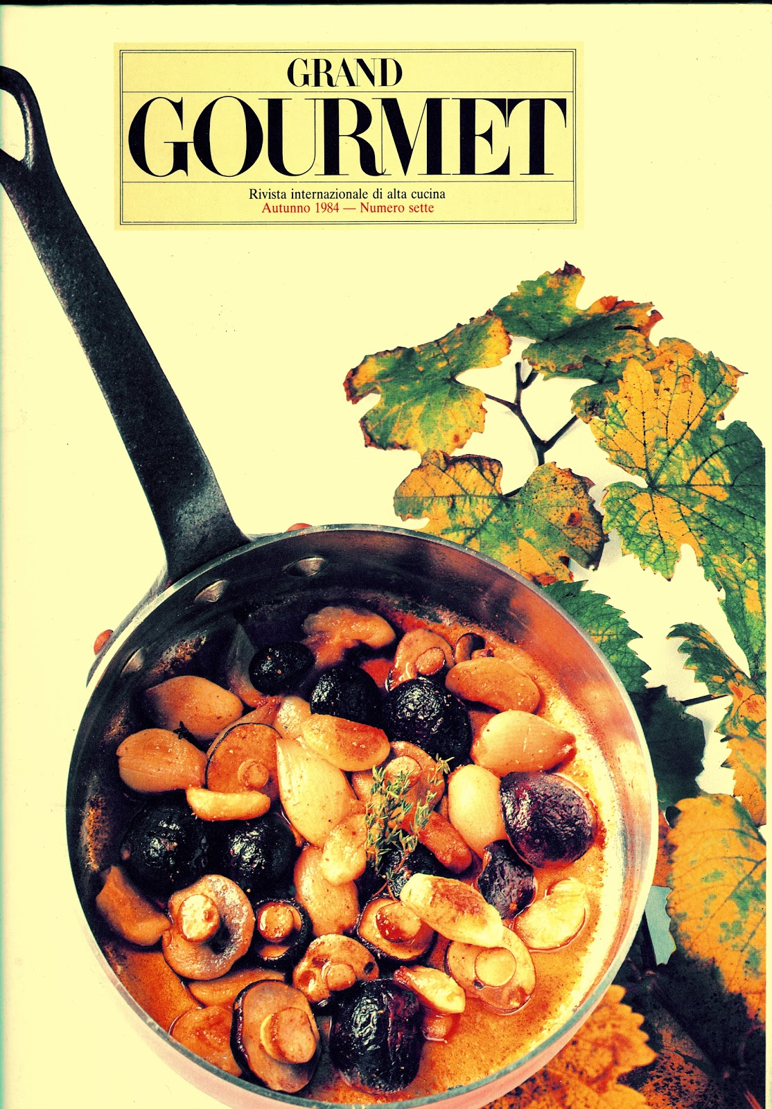 grand gourmet rivista internazionale di alta cucina 1984 8000 versione rilegata 12000 in libreria