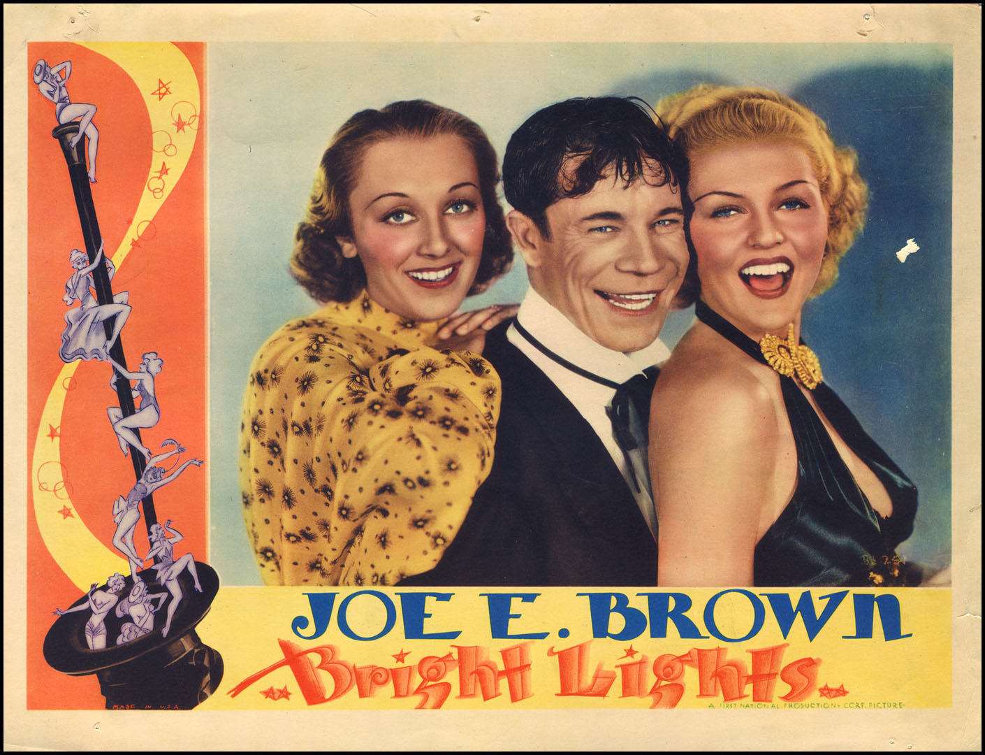 bright lights 1935 film art movies wood and whatnot bright lights