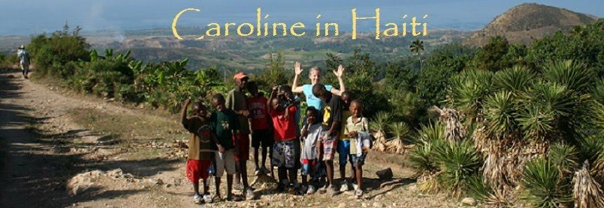 Caroline in Haiti