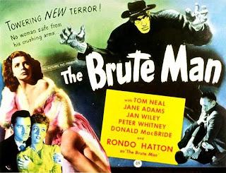 Cartel original de la Película The Brute Man
