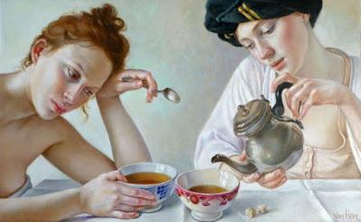 Cuadros Mujeres Pensativas Y Tristes