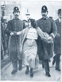 Arrested Suffragette
