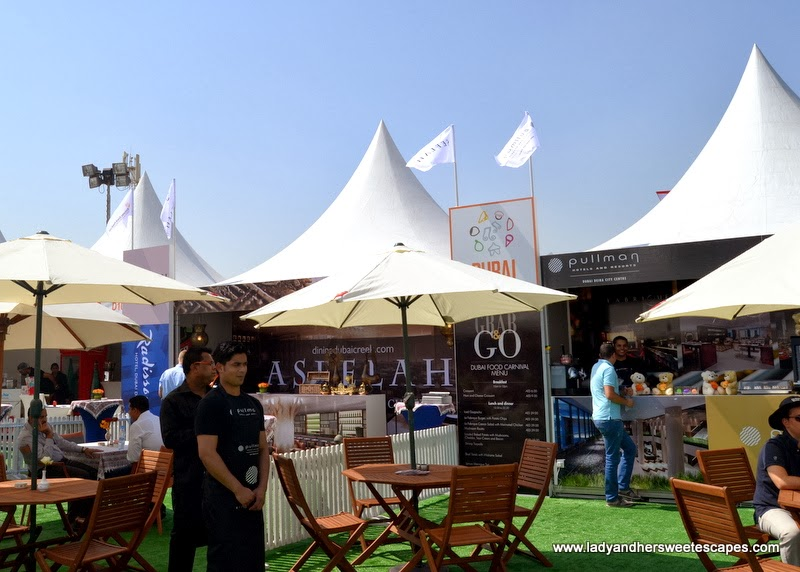 Hotel Restaurants at the Dubai Food Carnival