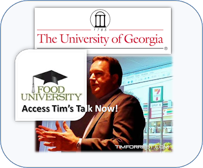 Tim Forrest Speaking at UGA on Food Marketing