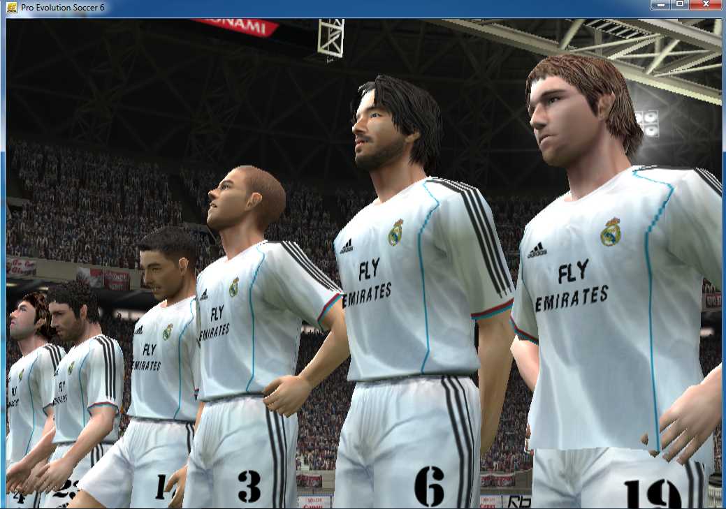 Download Pro Evolution Soccer 6 ( PES 6 ) Full Rip + Update Pemain