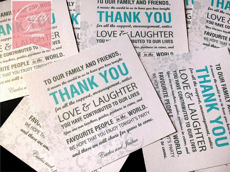 Wedding Card Malaysia – Wedding Thank You Card Poems