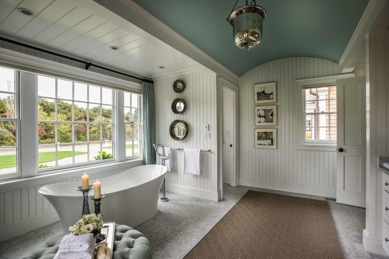 Este banheiro que vi pela primeira vez no blog da Lu Cunha atende o  #605142 1280x853 Banheiro Com Banheira Metragem
