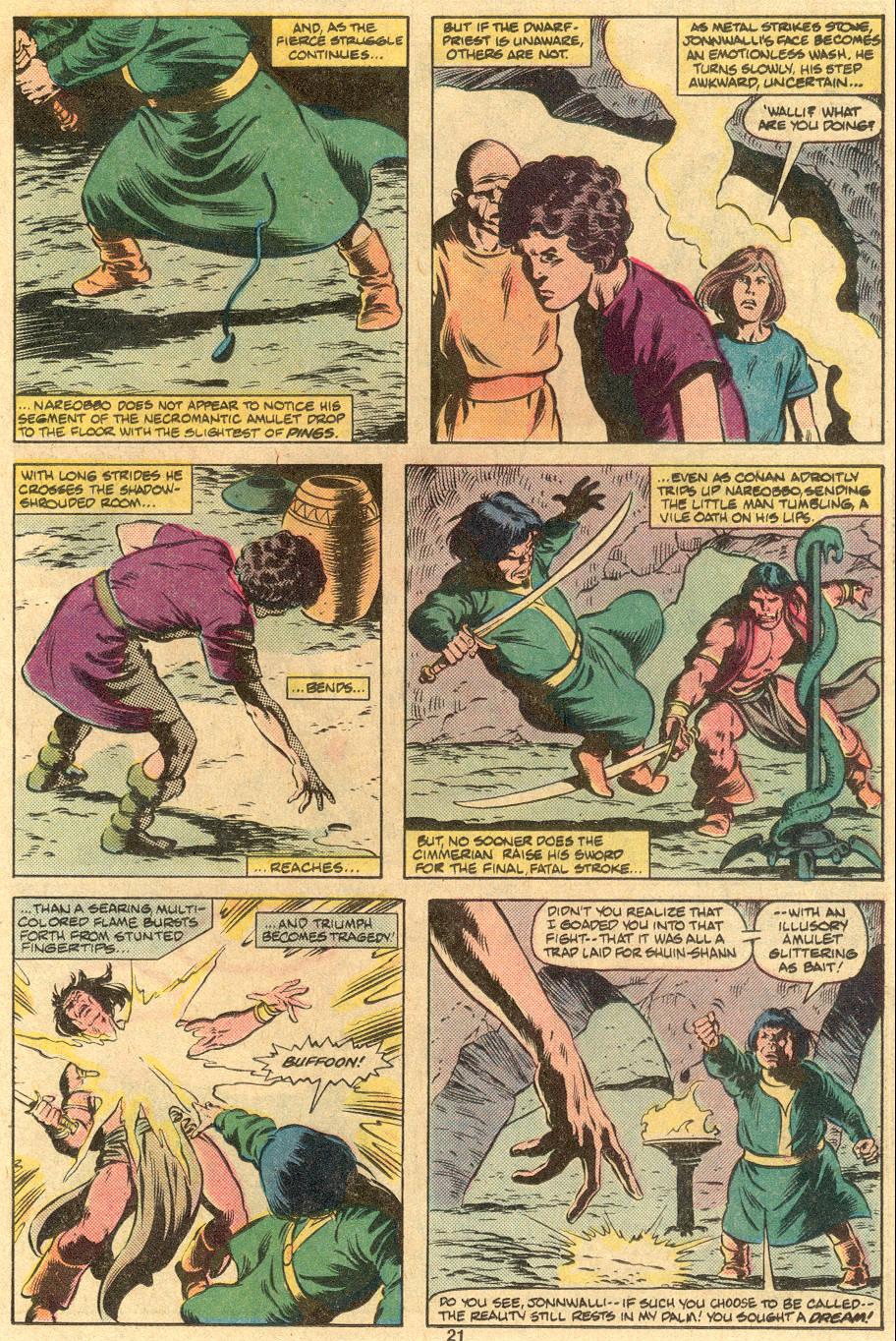 Conan the Barbarian (1970) Issue #122 #134 - English 17