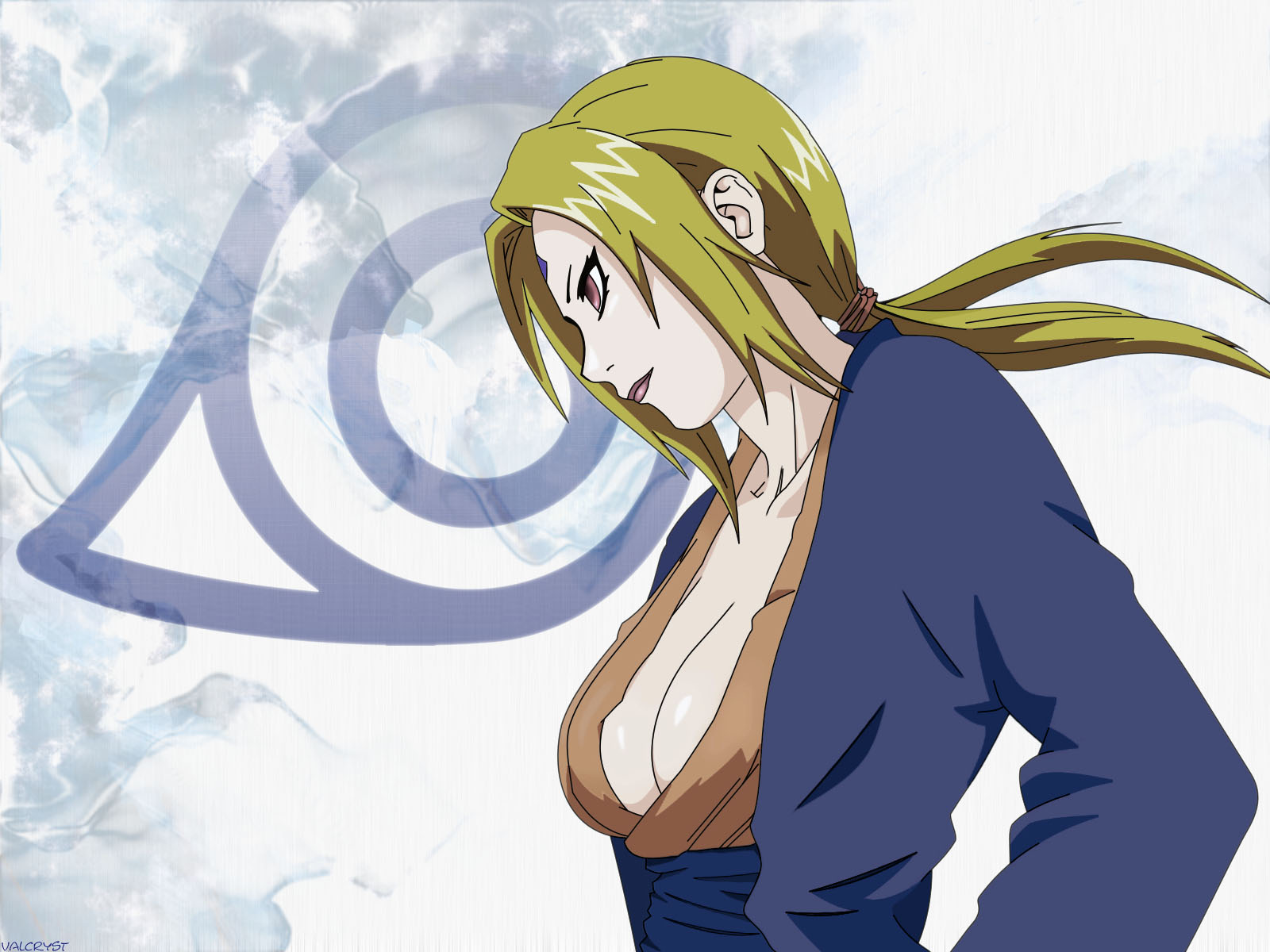 Tsunade Wallpaper Desktop Background 1600 X 1200