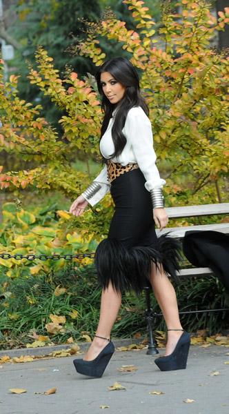 Fashion Shoes Kim Kardashian S Wedges