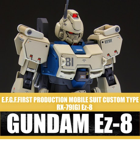mobile suit custom type gundam ez 8