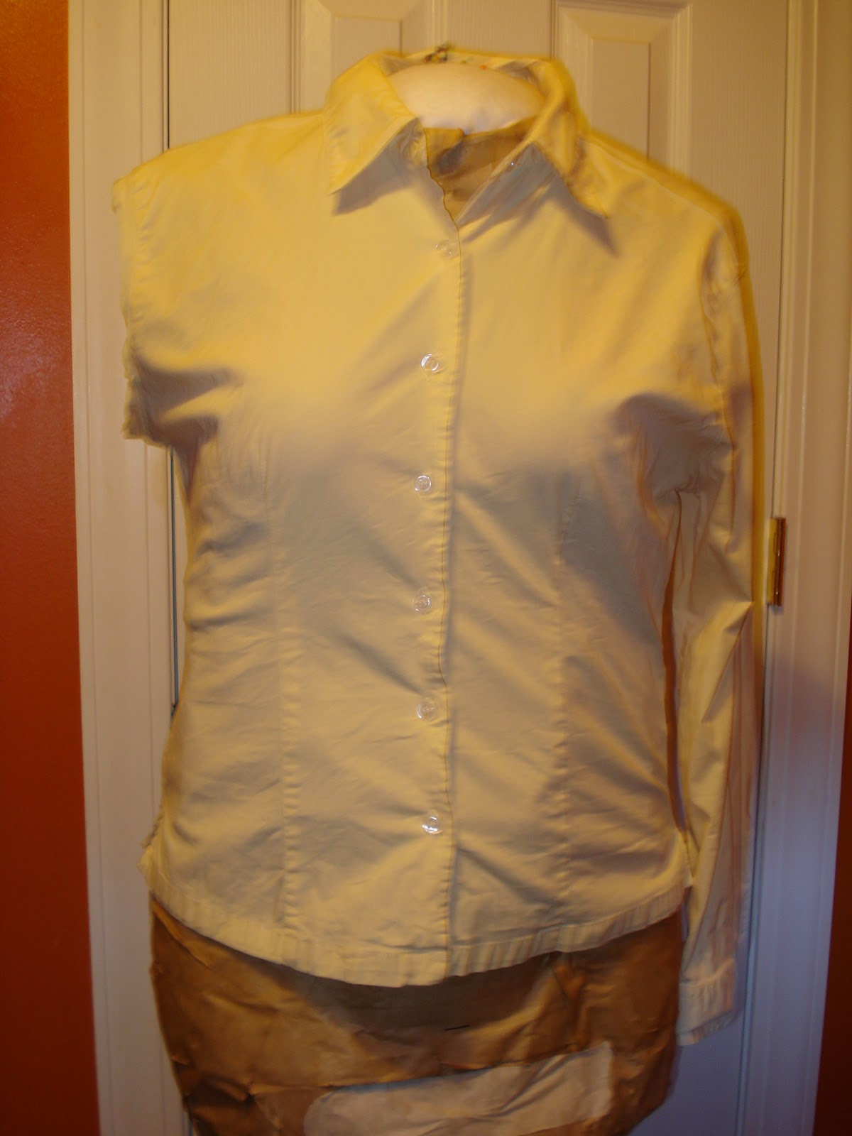 how to get yellow stain off shirt