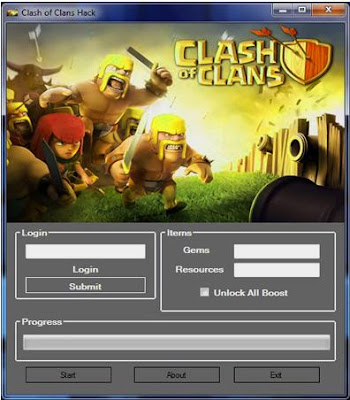 Clash of Clans Hack Tool 2013