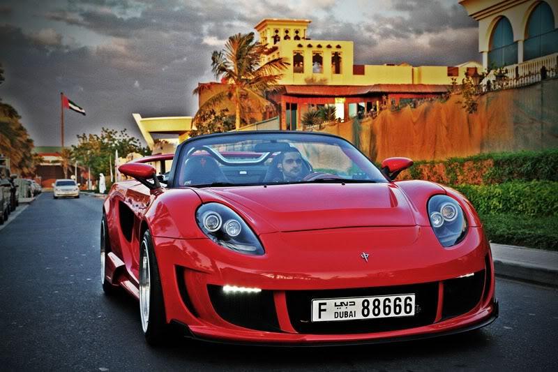 Toyota MR2, ZZW30, MR-S, tuning, modyfikacje, bodykit, zdjęcia, Luxury Part, LP, Dubai