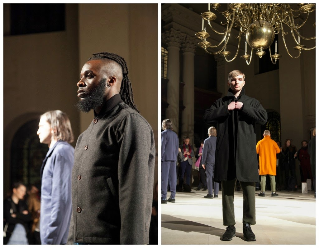 LCM, London Collections, Universal Works, otoño invierno, Fall 2015, menswear, outwear, London, coat, abrigos, Billy Craigon-Toon, Suits and Shirts,