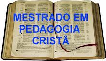 MESTRADO EM PEDAGOGIA CRISTÃ