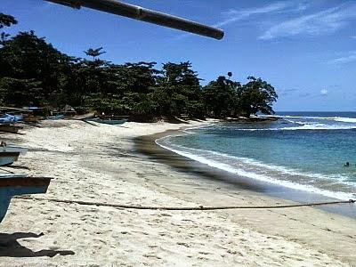 Pantai Ranca Buaya Surga Lainnya DiSelatan Garut