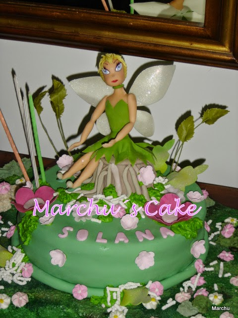 """Torta infantil """"Campanita"""""""