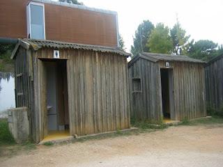Casas de Banho junto á praia