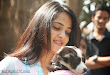 Anushka with Puppy at Blue Cross Pet Carnival Press meet