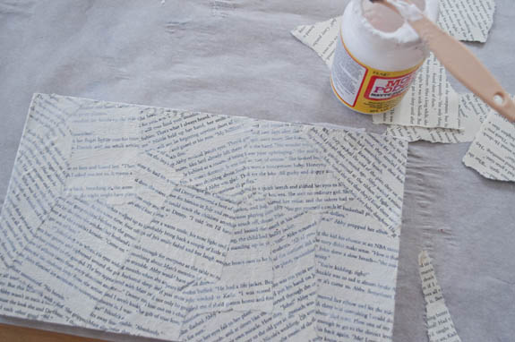 El Yapımı Romantik Duvar Tablosu Adım 6