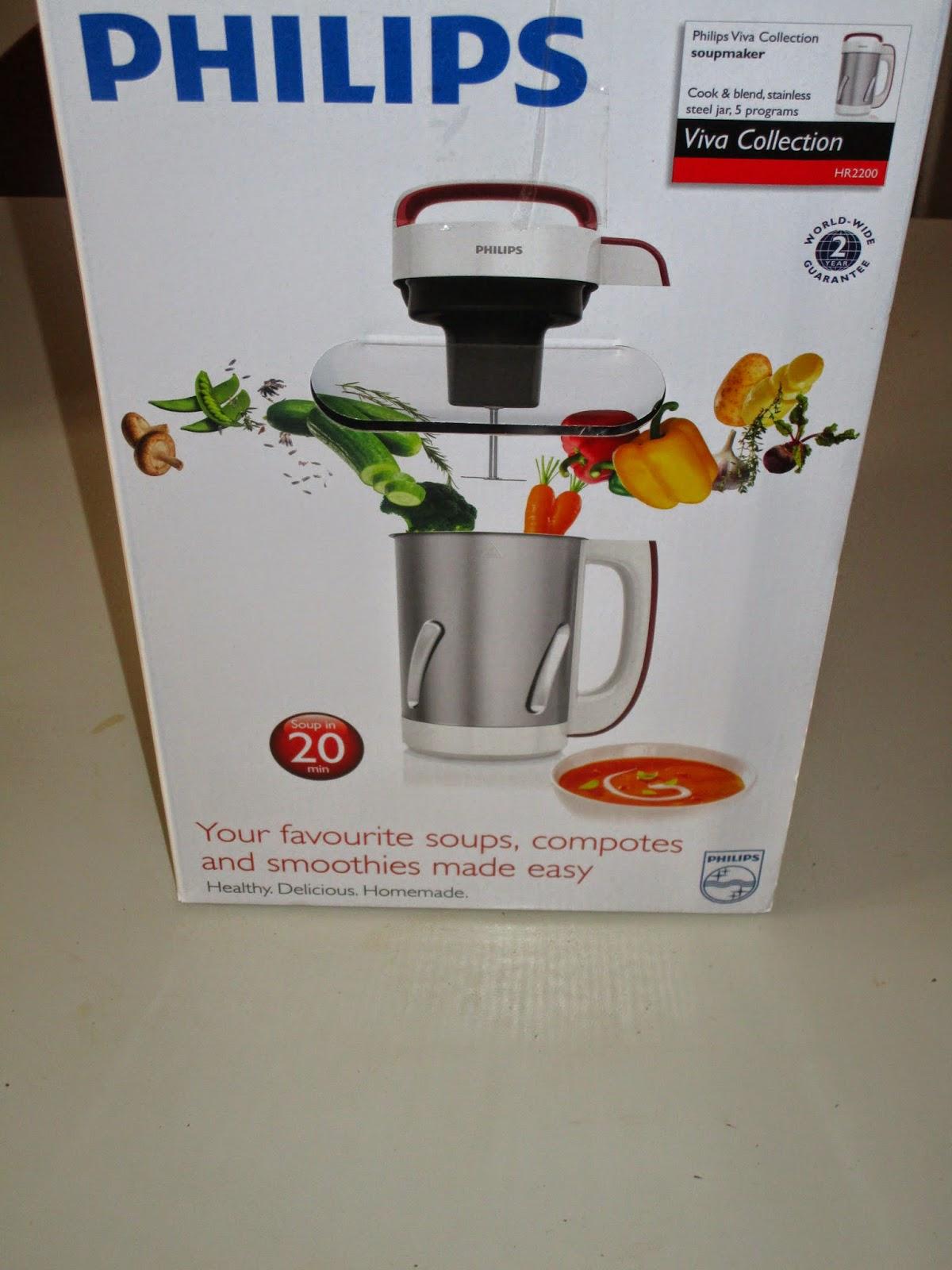Paolafabiola vi presento la mia soup maker philips - Soup maker philips video ...