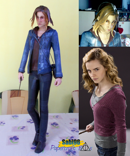 Hermione Granger Paper Model