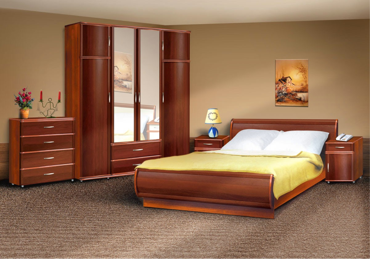 The simplicity connected with modern bedroom furniture for Bedroom furniture layout