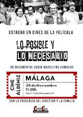 """Estreno en Málaga de """"Lo posible y lo necesario· documental sobre Marcelino Camacho"""