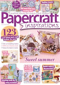 EXCITED TO BE DESIGNING FOR PAPERCRAFT INSPIRATIONS