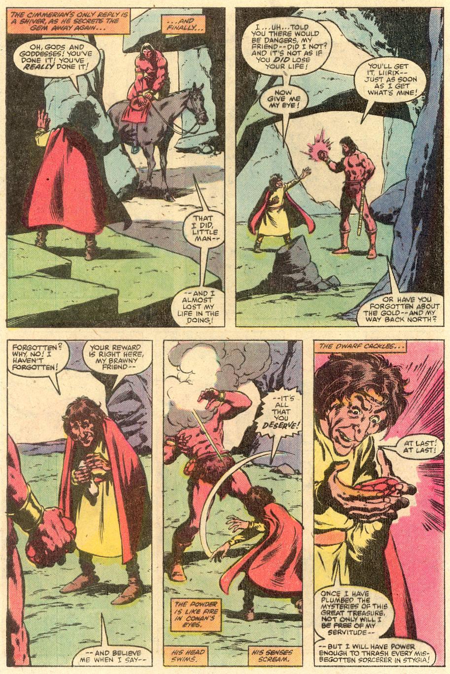 Conan the Barbarian (1970) Issue #126 #138 - English 19