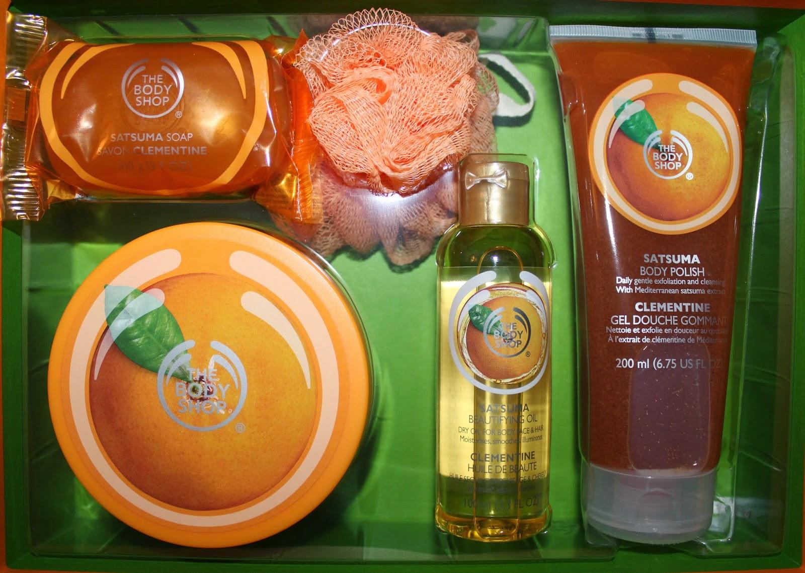 The Body Shop's Sastuma Premium Selection