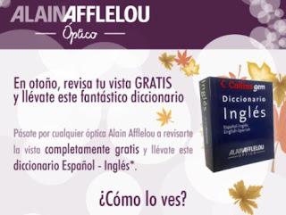 Consigue un diccionario español-ingles gratis