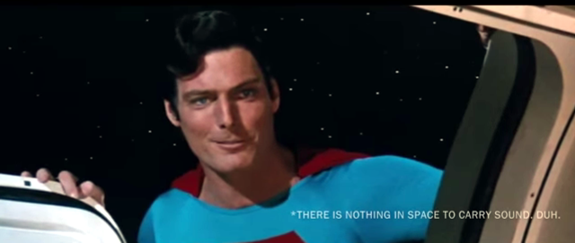 Superman in Gravity