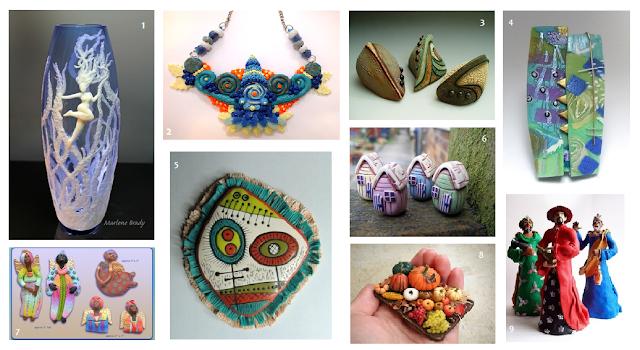 Marlene Brady's Pinterest Polymer INSPIRATION Composite